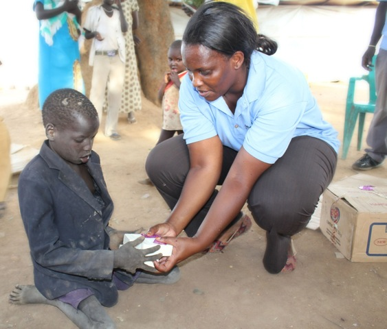 Drop in the Bucket-Soap For South Sudan delivery